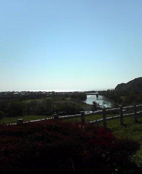 新冠川から太平洋